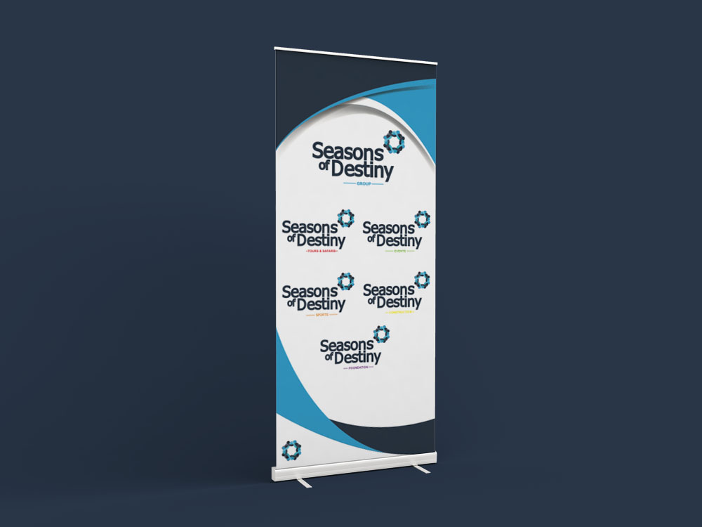Seasons of Hope Pull Up Banner