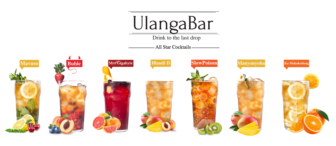 UlangaBar All Star Cocktails Banner